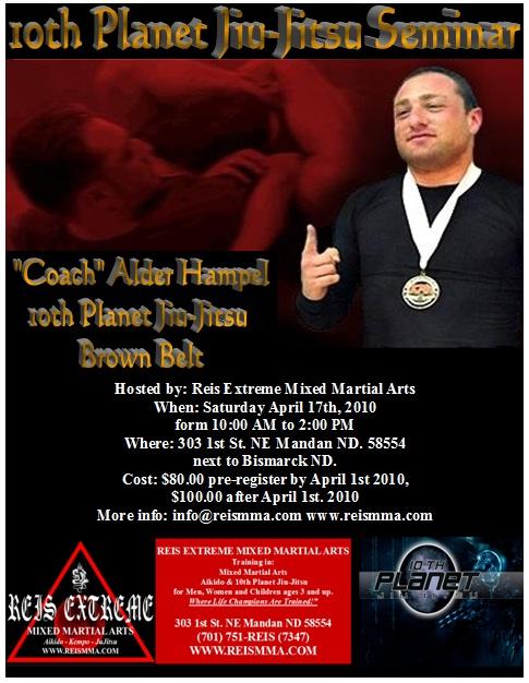 Coach Alder Hampel Seminar Flyer
