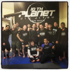Franky Orellana gets his blue belt @ 10th Planet Jiu Jitsu Van Nuys
